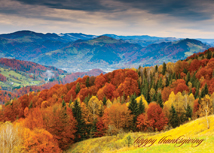Glorious View! Mountain Top Thanksgiving Cards